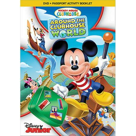 Halloween Around The World Cartoon (Mickey Mouse Clubhouse: Around the Clubhouse World)