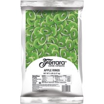Gummy Candies: Ferrara Apple Rings