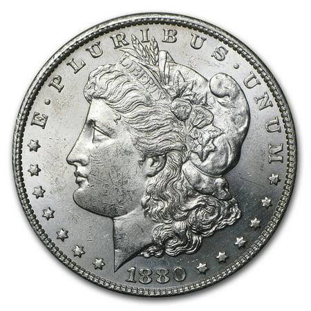1880-S Morgan Dollar BU (1880 O Morgan Silver Dollar Coins)