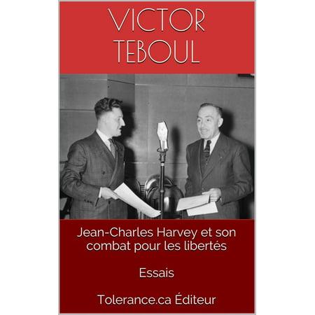 Jean-Charles Harvey et son combat pour les libertés - eBook - Son Pour Halloween