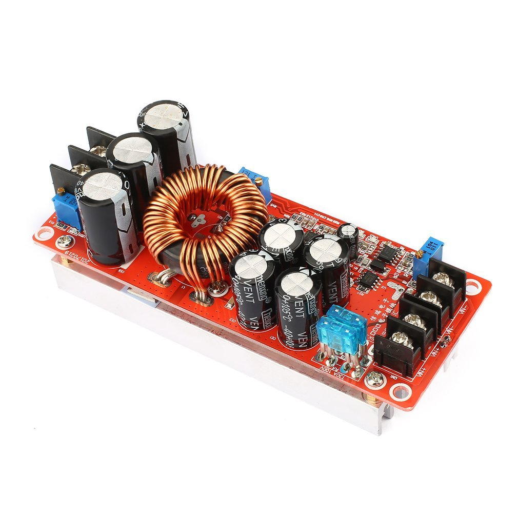 Portable 1200w Constant Current Dc Boost Converter Power Supply Step This Circuit Can Be Adjusted To Up Module