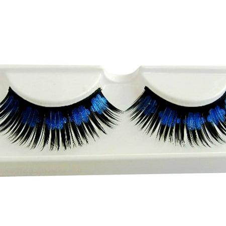 Mosunx Women Halloween Stage Party Makeup Artistic Plum blossom False Eyelashes - Artistic Makeup Halloween