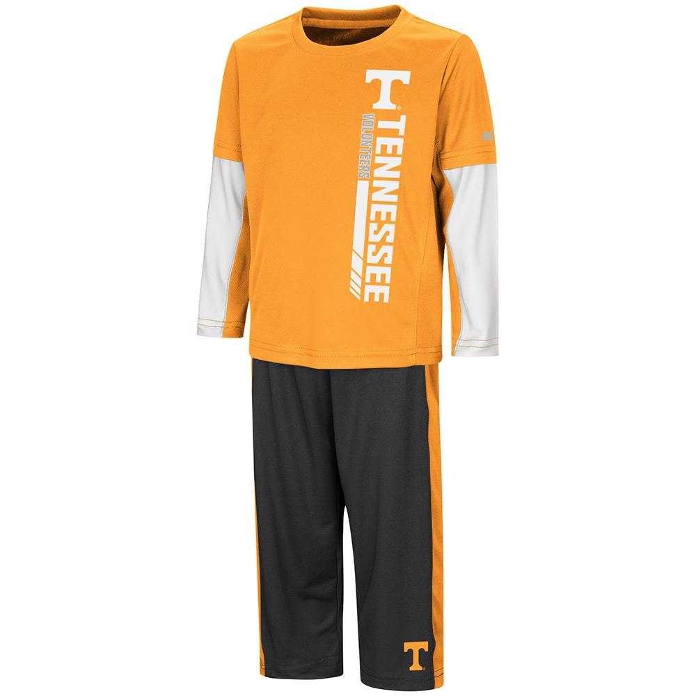 Toddler Tennessee Volunteers Long Sleeve Tee Shirt and Sweatpants Set - 2T