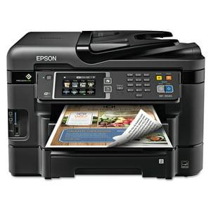 Epson WorkForce WF-3640 All-in-One Wireless Color Printer|Copier|Scanner|Fax Machine