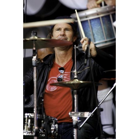 Chad Smith of The Red Hot Chili Peppers performing at Live Earth at the Wembley Stadium in London Photo