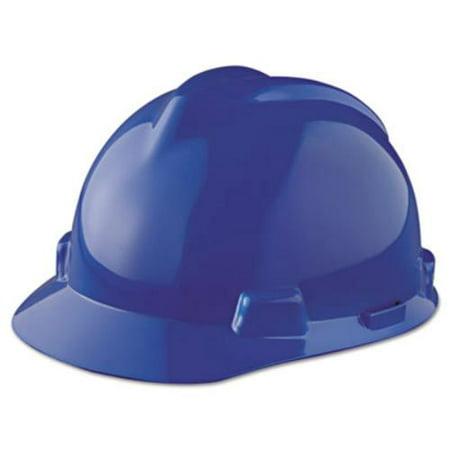 Msa V Gard Staz On Cap   Polyethylene   1 Each Each   Blue  463943