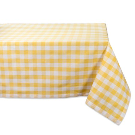 Design Imports Classic Rectangle Checkers Kitchen Tablecloth, 52