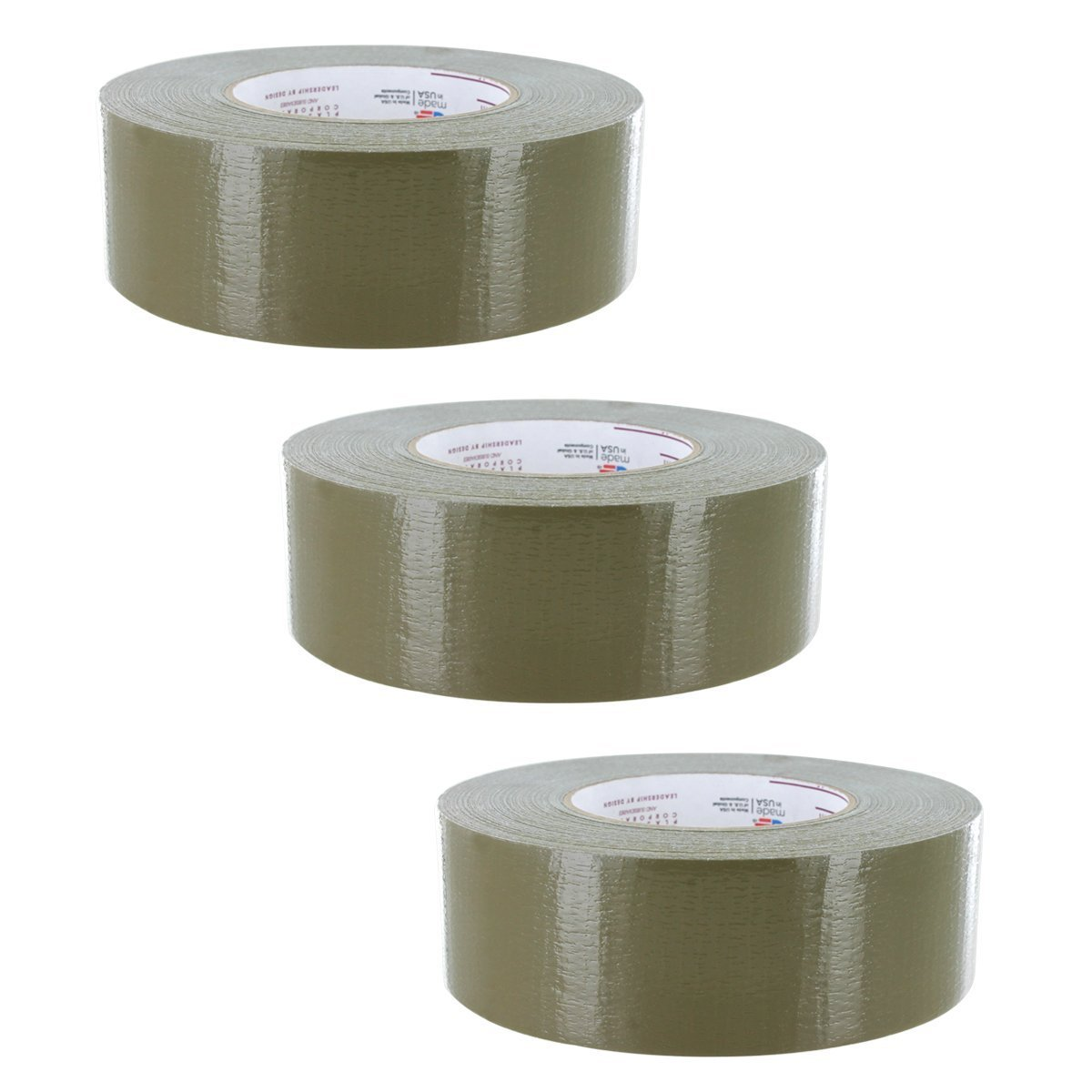 Nashua Duct Tape 2 in x 60 yd Olive Drab 9 mil 3 Pack