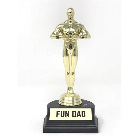 Aahs Engraving World's Best Award Trophy (Fun Dad (7 (Dad's Trophy)