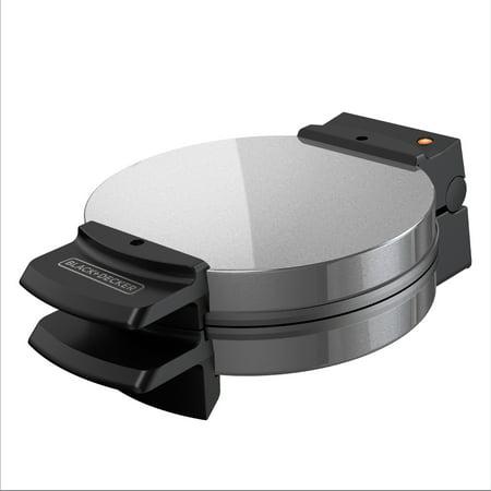 BLACK+DECKER Belgian Waffle Maker, Stainless Steel, WMB505 ()