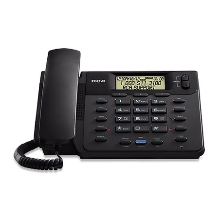 - RCA ViSYS 25201RE1 2-Line Corded Speakerphone