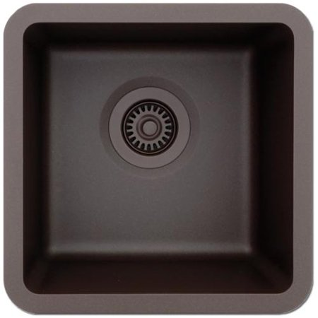 ... Small Single Bowl Quartz Composite 15 x 15 x 7-1/2 D Kitchen Sink
