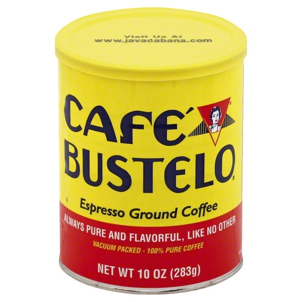 Café Bustelo, Espresso Style Ground Coffee, 10oz by The J.M. Smucker Co.