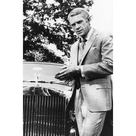 Steve McQueen in The Thomas Crown Affair 24x36 Poster by (Steve Mcqueen Thomas Crown)