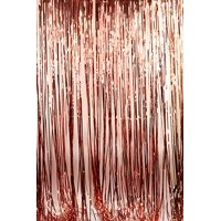Rose Gold Foil Fringe Curtain Party Wedding Backdrop Hen Fashion Decoration
