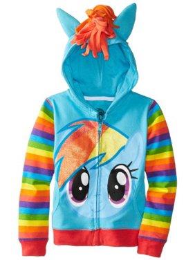 Little Girls' Rainbow Dash Hoodie