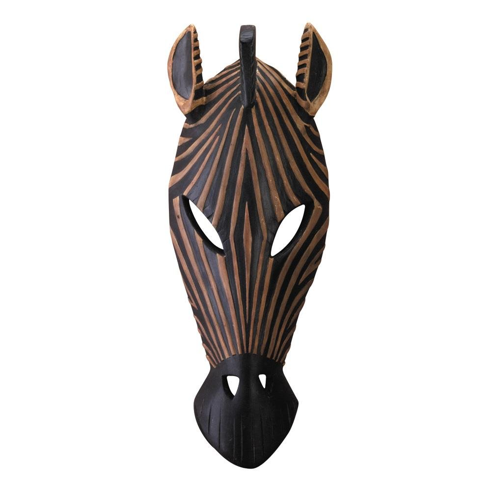 Hanging Wall Art, Zebra Mask Living Room Decorative Bedroom Wall Plaque