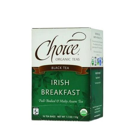 Choice Organic Teas Irish Breakfast Tea - 16 Tea Bags