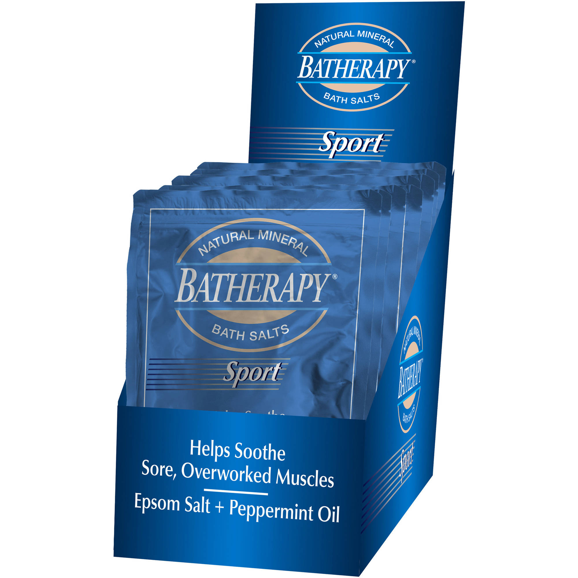 Queen Helene Batherapy Sport Natural Mineral Bath Salts, 1.5 oz