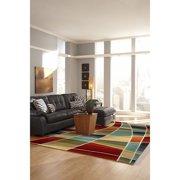 Transocean Lines Indoor Area Rug (3'6 x 5'6) - multi