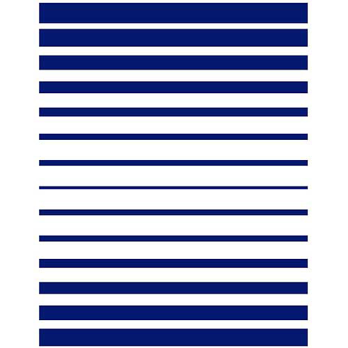 Springs Creative Blair Ombre Stripe Fabric by the Yard, Navy