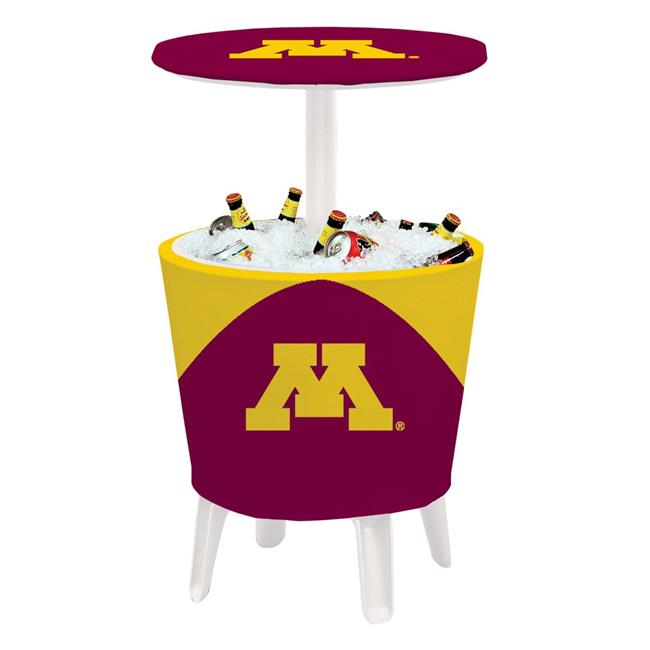 Victory Corps 810024MIN-004 NCAA Event Cooler Table Minnesota - No.004