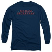 Madam Secretary Logo Mens Long Sleeve Shirt