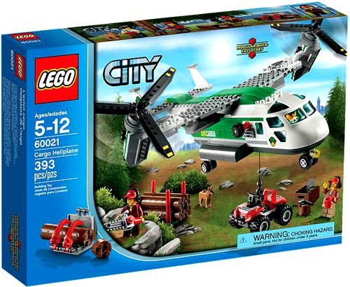 City Cargo Heliplane Set LEGO 60021