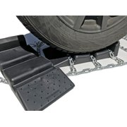 TireChain.com P225/75R16, P225/75 16 Cam Tire Chains w/Sno Chain Ramps