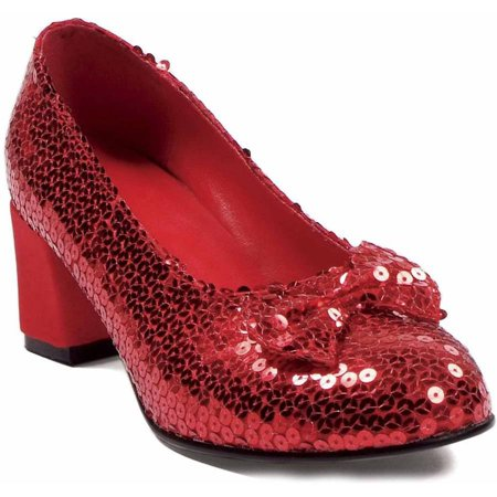 1316d57530cd Judy Sequin Red Shoes Women s Adult Halloween Costume Accessory -  Walmart.com