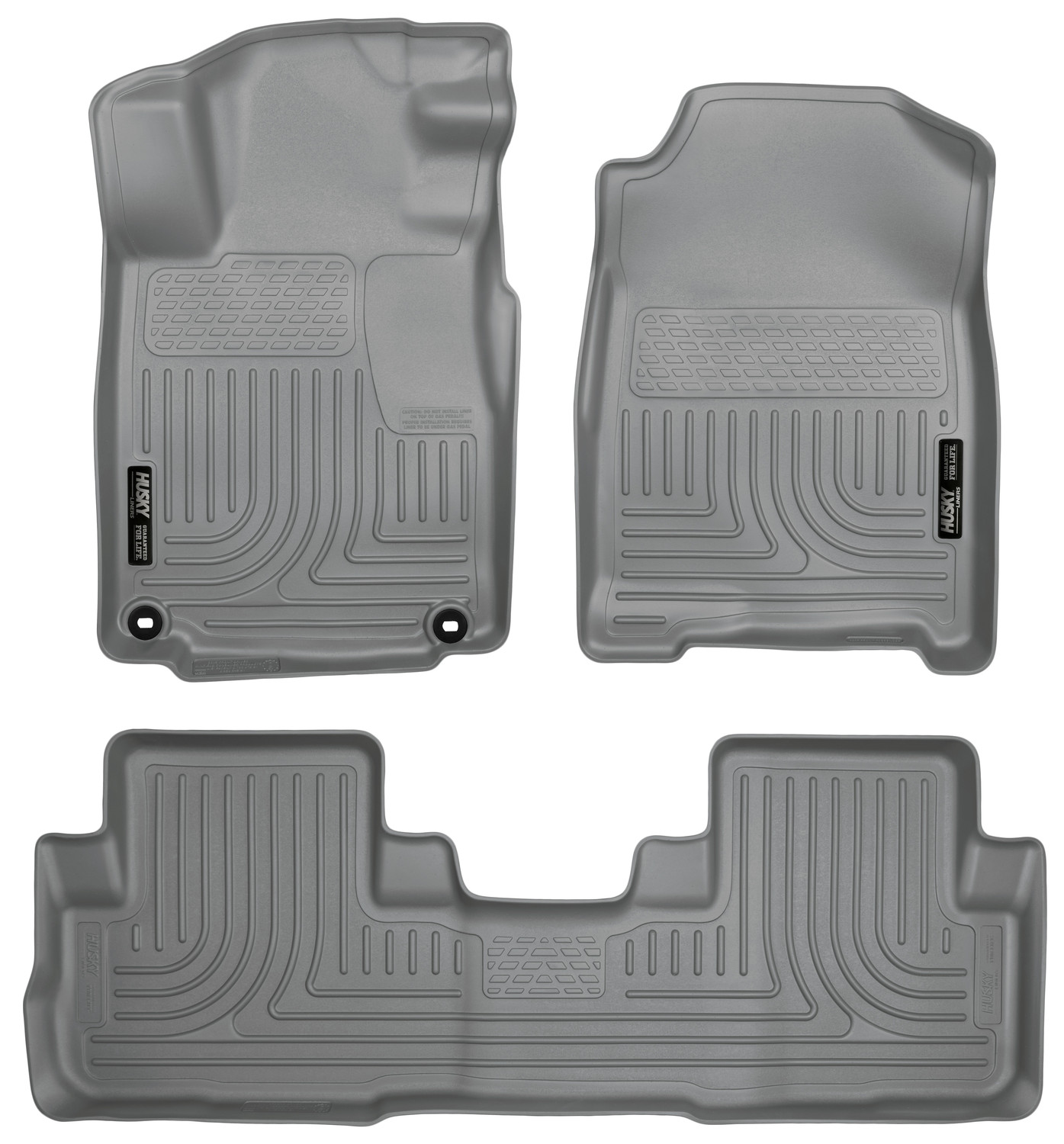Husky Liners Front & 2nd Seat Floor Liners (Footwell Coverage) Fits 16-16 CR-V