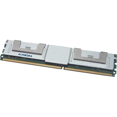 Axion AXG17991800/2 Axiom PC2-5300 FBDIMM 667MHz 16GB FBDIMM Kit (2 x 8GB) TAA Compliant - 16 GB (2 x 8 GB) - DDR2 SDRAM - 667 MHz DDR2-667/PC2-5300 - ECC - Fully Buffered - 240-pin - DIMM