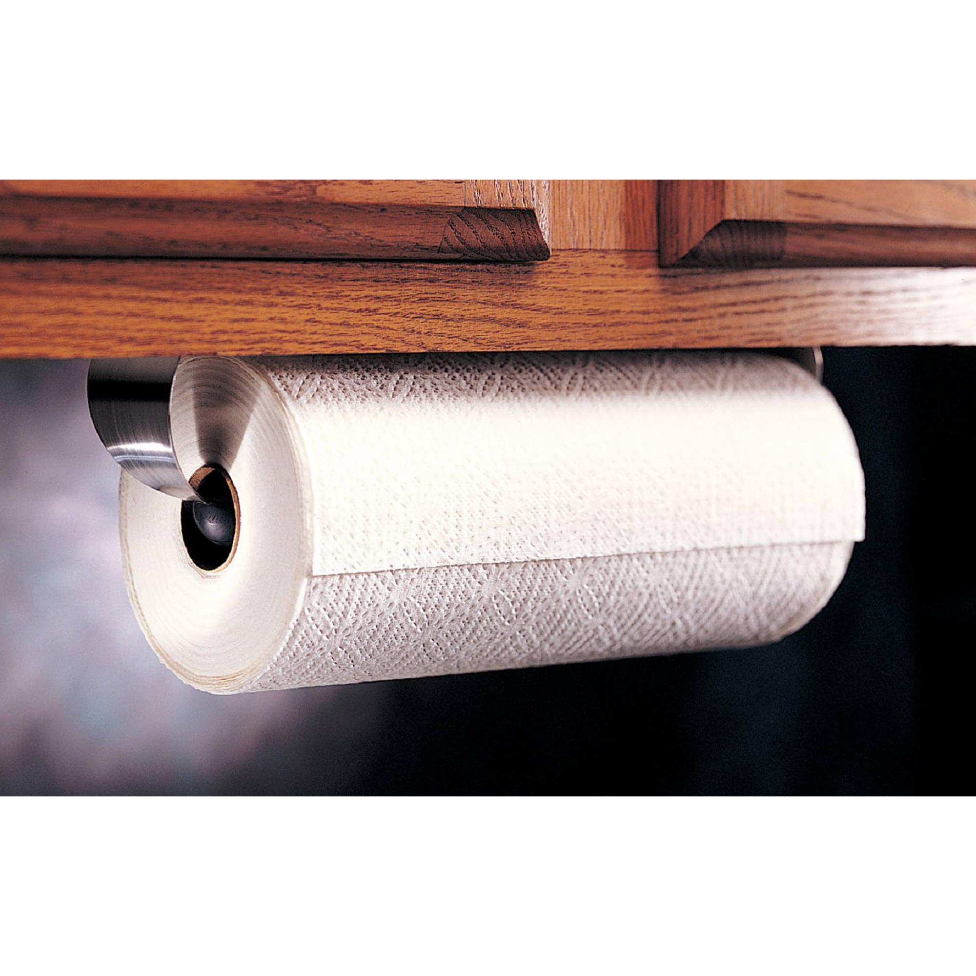 Prodyne Stainless Steel Under Cabinet Paper Towel Holder