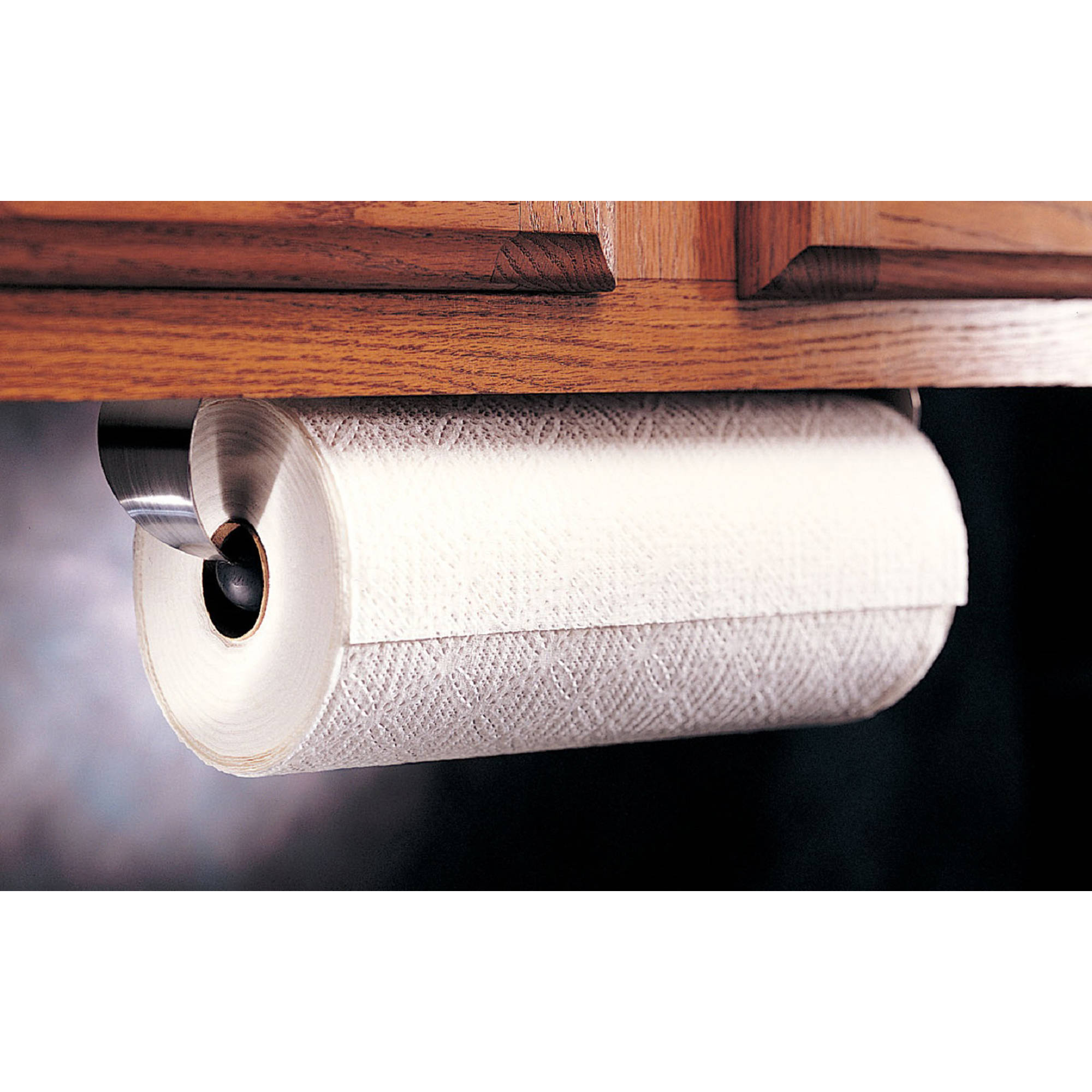 prodyne stainless steel under cabinet paper towel holder - walmart