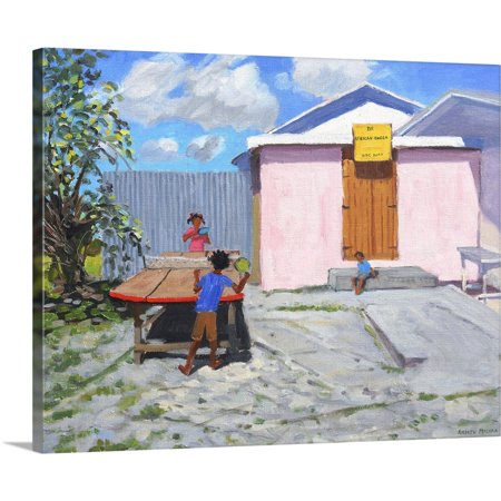 Great BIG Canvas | Andrew Macara Premium Thick-Wrap Canvas entitled Ping Pong, De African Queen Hideaway, Barbados. 2012 ()