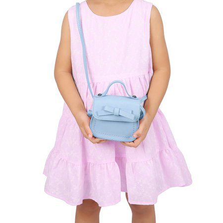 e34fea553fb67 HDE Small Fashion Purse for Little Girls Light Pink Toddler Kids Bag Cute  Bow (Pink ...
