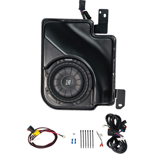 Kicker VSS SubStage Powered Subwoofer Upgrade Kit for 2007 and Up Chevrolet Silverado/GMC Sierra Extended Cab