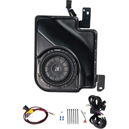 Kicker VSS SubStage Powered Subwoofer Upgrade Kit for 2007 and Up Chevrolet Silverado/GMC Sierra Extended (Kit Extended Cab)