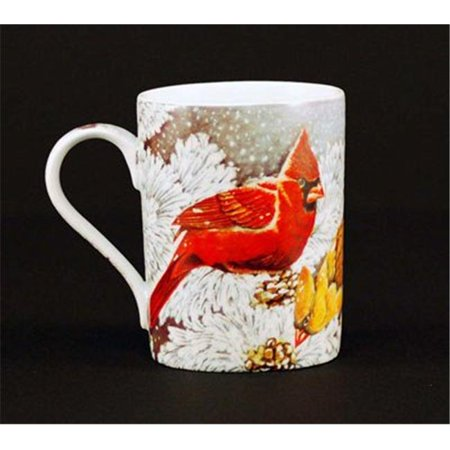 Euland China B0-006C Set Of Two 12-Ounce Mugs - Cardinal ()
