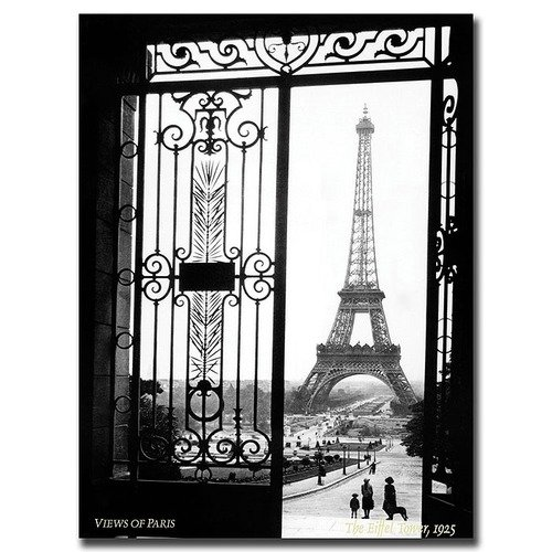 Trademark Global Views of Paris by Sally Gall, Traditional Canvas Art - 32'' x 24''