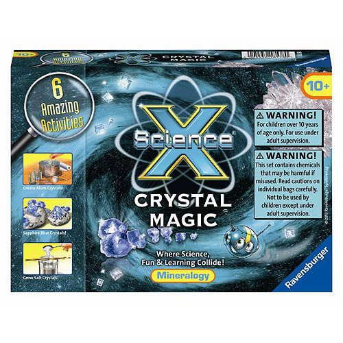 Ravensburger Science X Kit, Crystal Magic