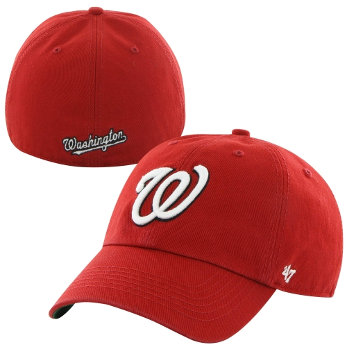 Washington Nationals '47 Home Franchise Fitted Hat - Red