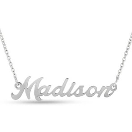 Madison Nameplate Necklace In (Any Nameplate Necklace)