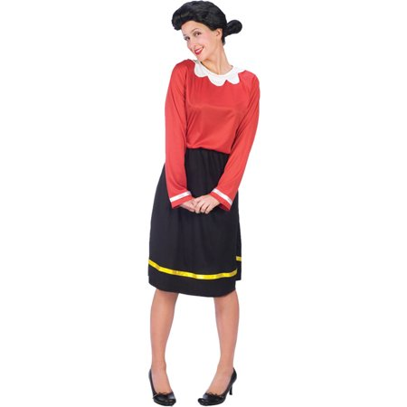 Morris Costumes Adult Womens Tv & Movie Characters Popeye Dress S/M, Style FW102734SD