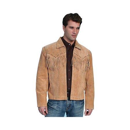 94dff5ef4 Men's Scully Boar Suede Fringe Jacket 221