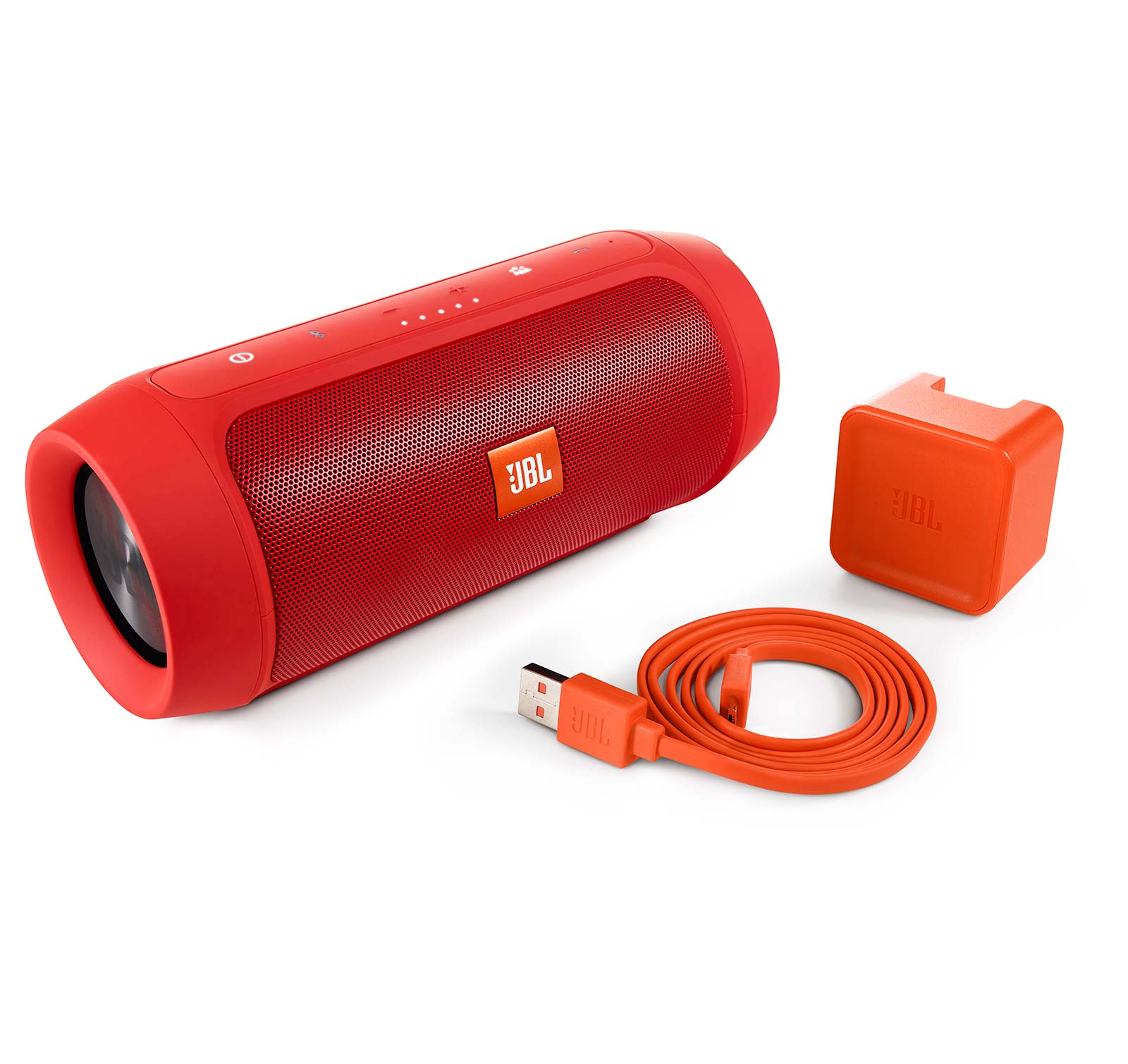 JBL Charge 2 Plus Red Splashproof Portable Bluetooth Speaker