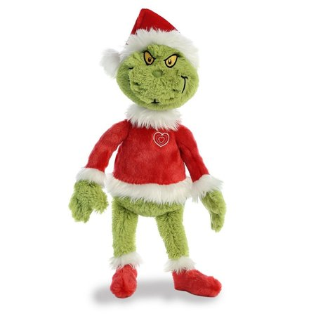 Grinch Santa 19 inch - Stuffed Animal by Aurora Plush (15900)