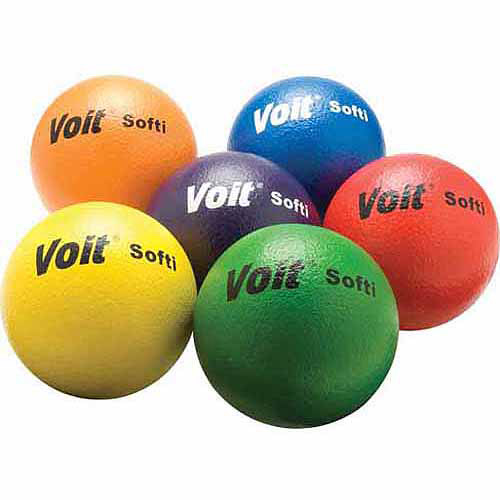 "Voit 6-1/4"" ""Softi"" Tuff Ball Set"