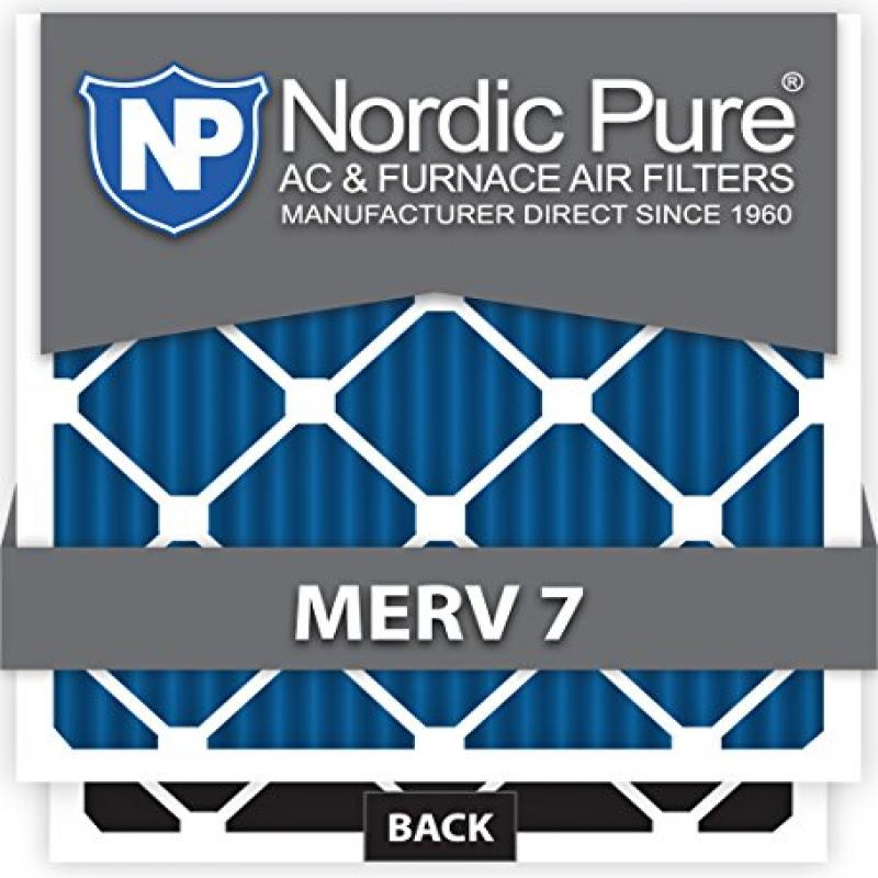 Nordic Pure 14x24x1M10+C-12 MERV 10 Plus Carbon AC Furnac...