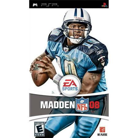 Madden NFL 08 - Sony PSP (Madden 13 Draft Classes Best Players)